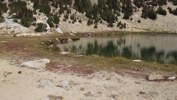 Lower Trail Lake, 10,150